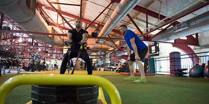 The Sports Center at Chelsea Piers in New York City offers 130+ challenging and engaging group fitness classes.