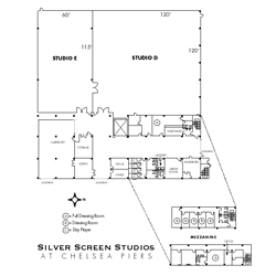 Silver Screen Studios Studio D & E