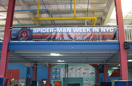 Spider-Mania at Chelsea Piers