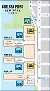 Chelsea Piers Map