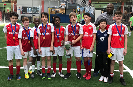 CP Arsenal - U13 Runners up