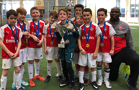 CP Arsenal - U9 Runners up