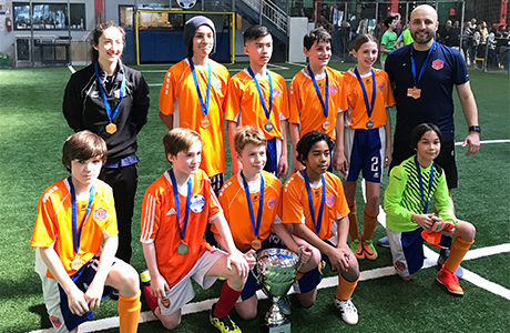 CP Garfield Orange - U13 Champions