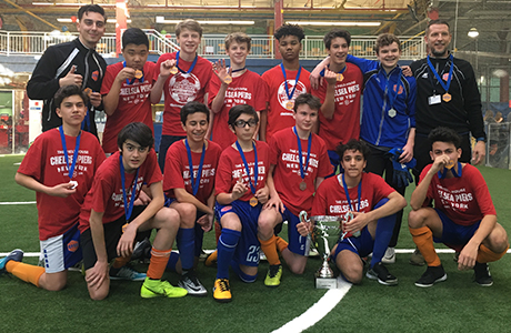CP Juniors - High School Division 2 Champions