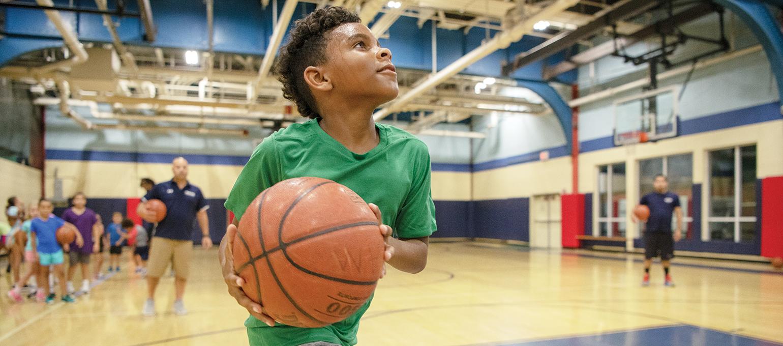 Sports (Soccer, Basketball, Flag Football, Baseball or Dodgeball)