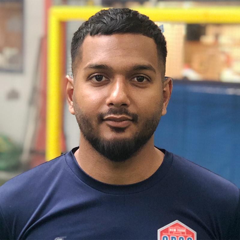 Adult Soccer League Director Kevin Sookhan
