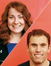 Josh Diorio and Amy Rowland Siegel