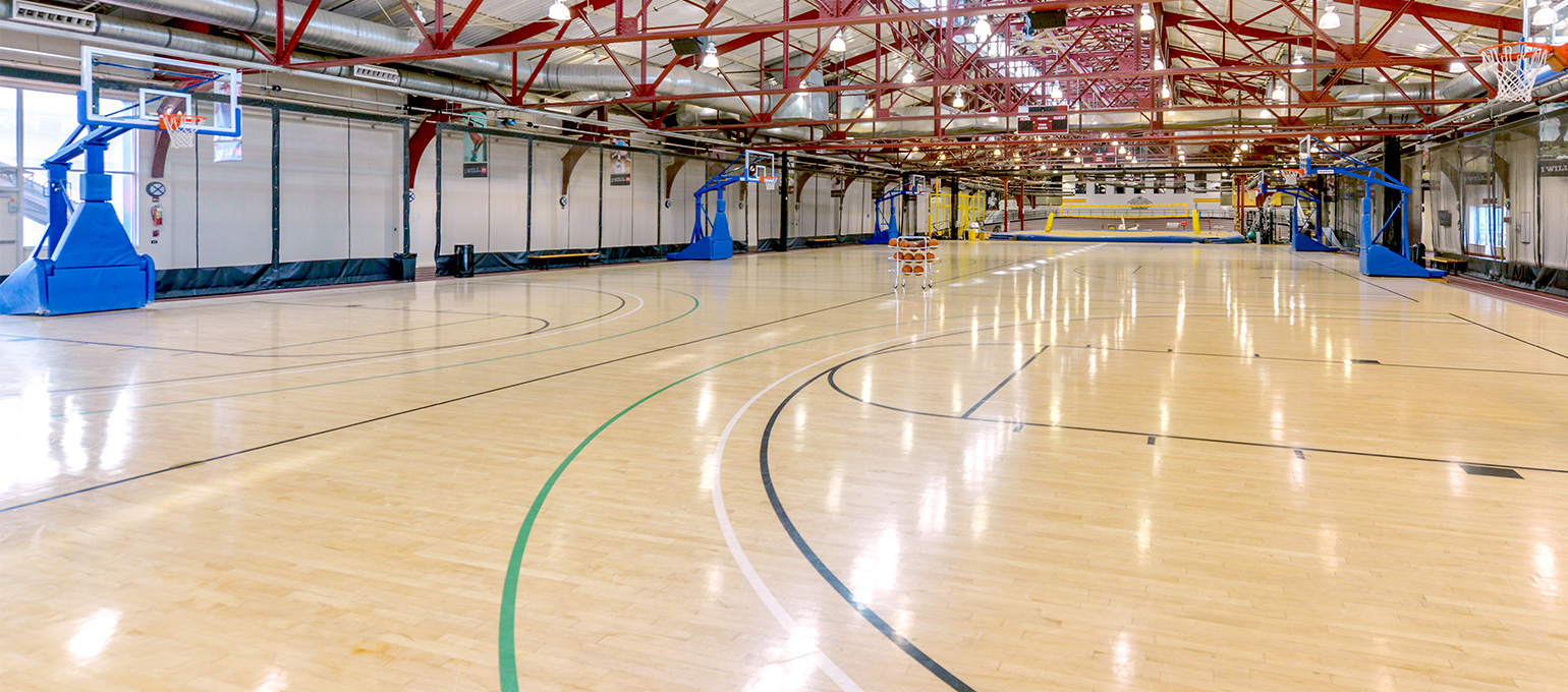 Indoor Basketball Courts Chelsea Piers Fitness Nyc