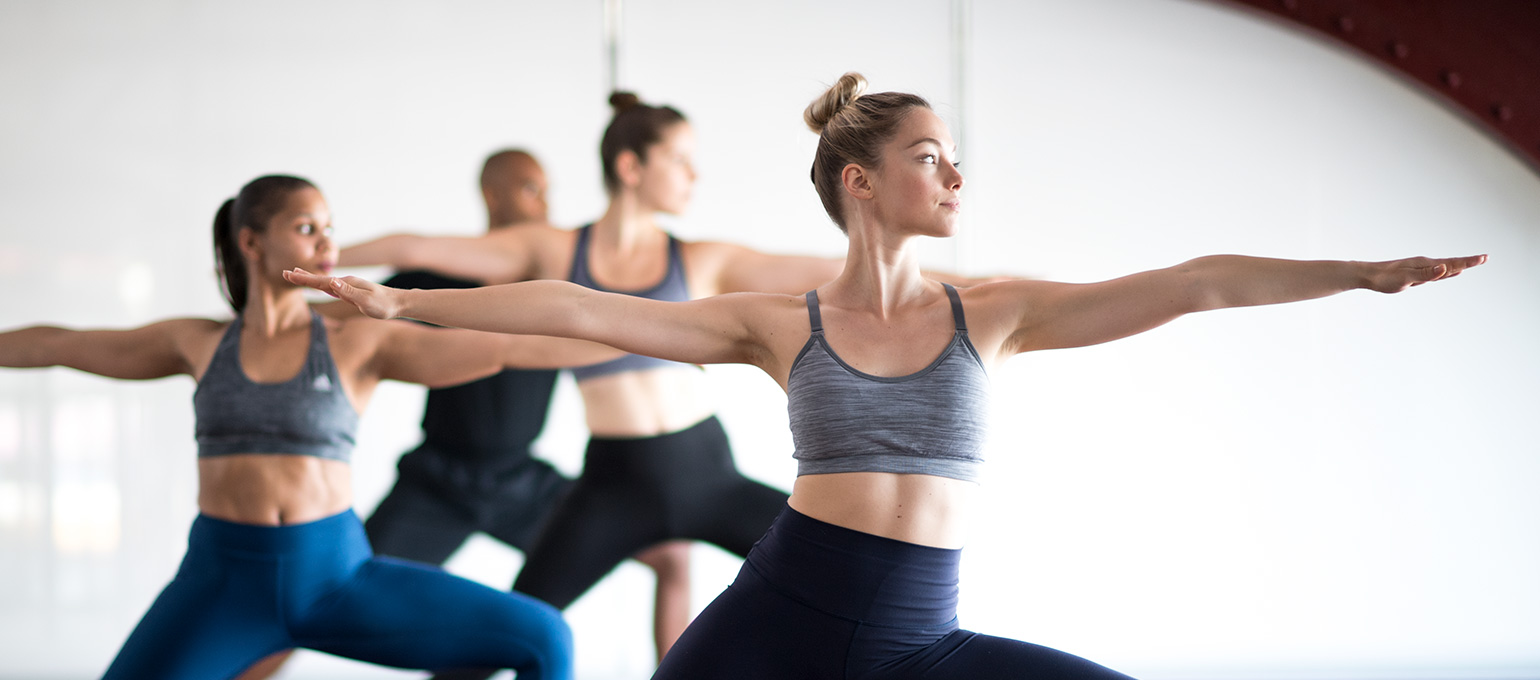 Yoga Group Fitness Class