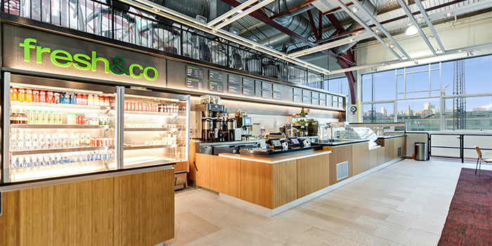 Chelsea Piers Fitness Café