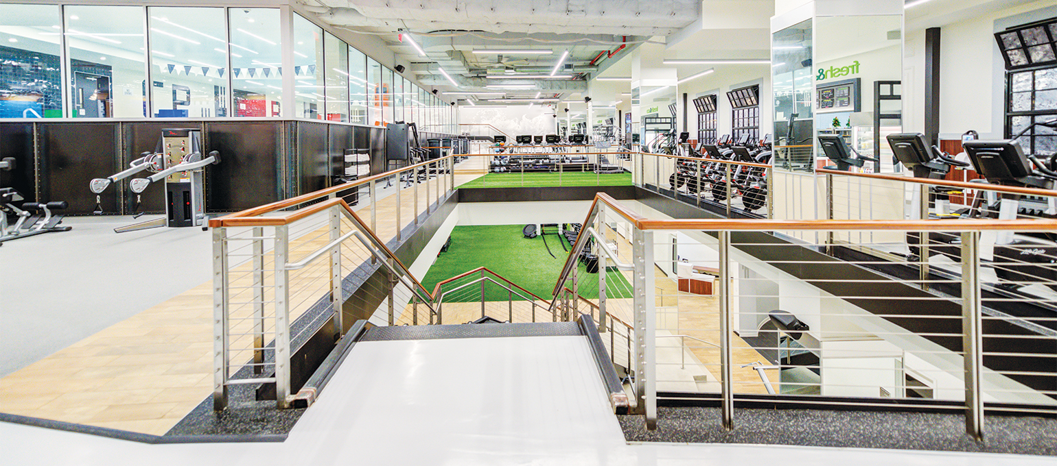 Experience Chelsea Piers Fitness Clubs in Chelsea or Brooklyn