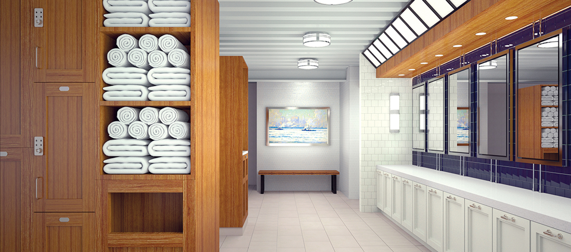 Modern Locker Rooms