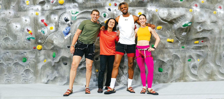 Climbing Schools + Bouldering Programs