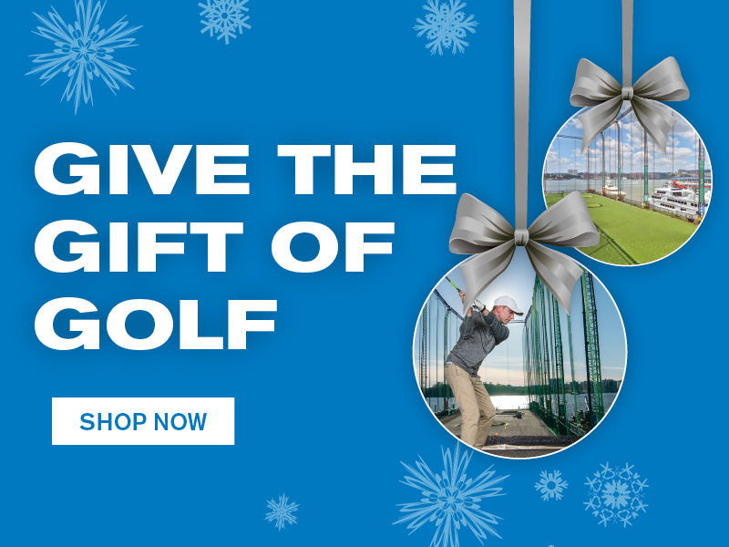GIVE THE GIFT OF GOLF SHOP NOW
