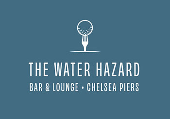 The Water Hazard Bar & Lounge Chelsea Piers Logo