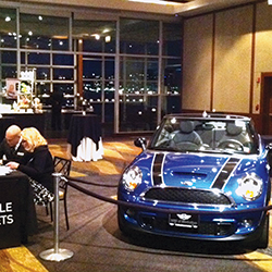 In 2005, the Robb Report's Best of the Best: NY issue filled the ballrooms at Pier Sixty with a wide range of luxury items, including a customized Mini Cooper and a Hinckley yacht.