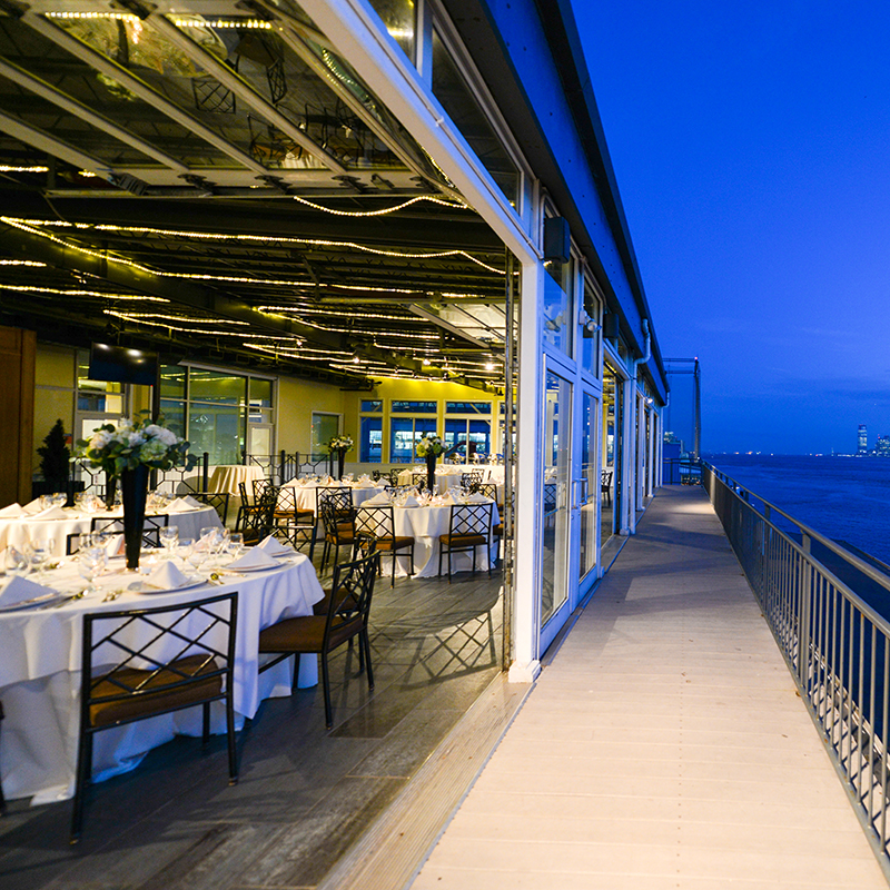 Sunset Terrace at Chelsea Piers