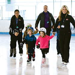 Learn to Skate at Sky Rink