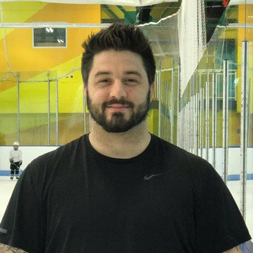 Adult Hockey League Director Danny Genovese